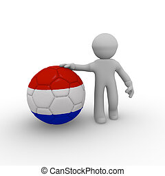 football, Hollandais