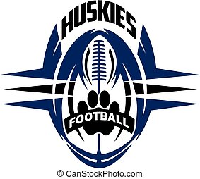 football, huskies