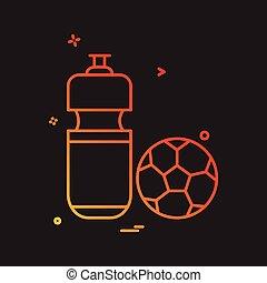 football icon vector design