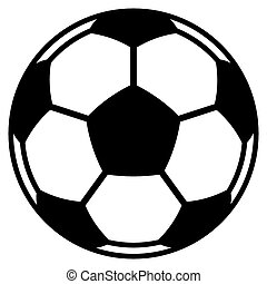 Illustration of the football / soccer ball