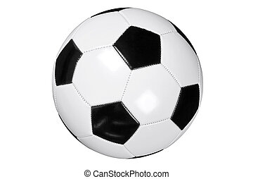 Football isolated clipping path