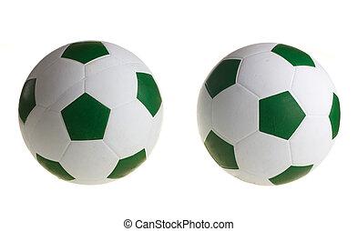 Football. Isolated on white background.