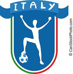 football, Italie