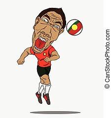 football, joueur,  portugal