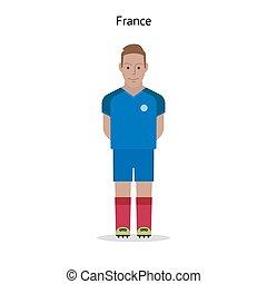 football, kit., france