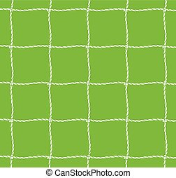 football net (soccer goal net)