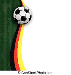 Football Oblong Cover Germany