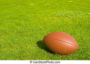 Football on Field