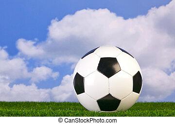 Football on grass