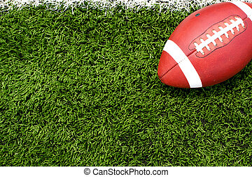 Football on the Field - American Football on the Field