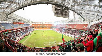 football panorama