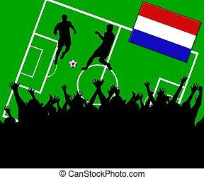 football, pays-bas, allumette