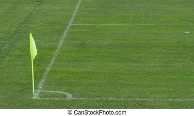 Football Pitch Corner Flag