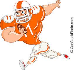 Football player - American football player
