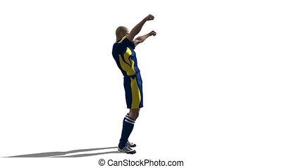 image of football player
