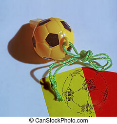 Football Red Yellow Cards