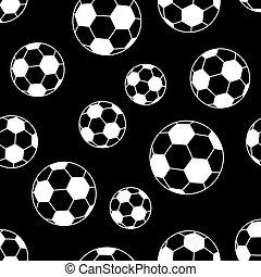 football, seamless, balle