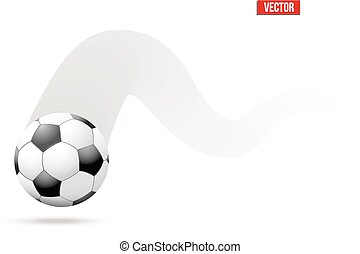 Moving Soccer Ball Clip Art