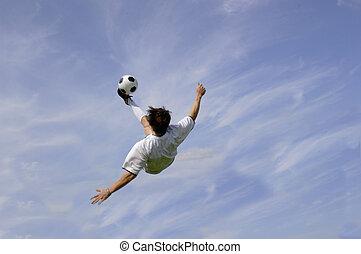 Football - Soccer - Bicycle Kick