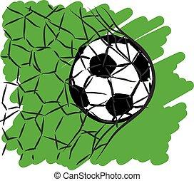 football soccer illustration