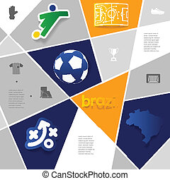 football, soccer infographic