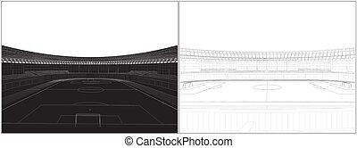 Football Soccer Stadium