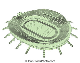 Football Soccer Stadium