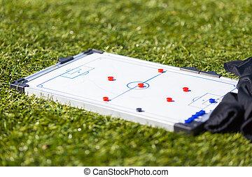 Football Soccer training tactic board