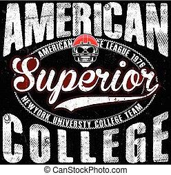 Football sport typography; t-shirt graphics; vectors