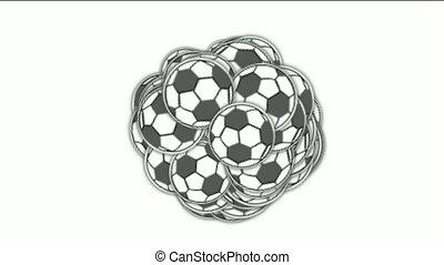 football, sports balls.