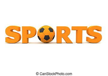 Football Sports Orange