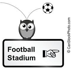 football, stadio