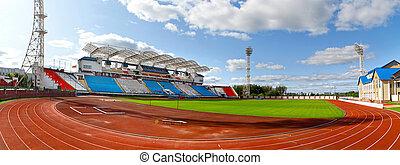 Football stadium in Vitebsk, Belarus