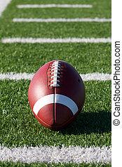 football, su, il, campo