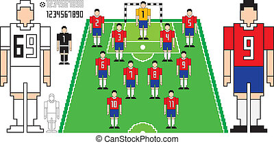 football, tactique,  kit
