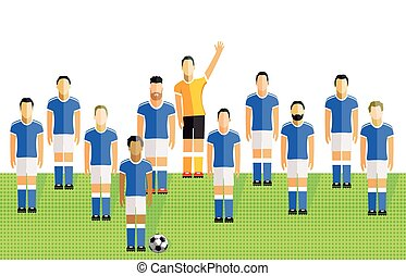 football team clipart and stock illustrations 71 610 football team rh canstockphoto com football team clip art free football team huddle clipart