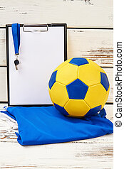 Football team's equipment