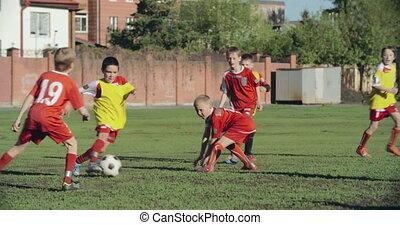 football, tenir boule