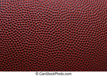 Football texture - Detailed macro of american football