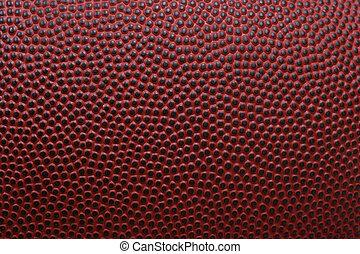 Football texture - Detailed macro of american football
