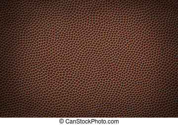 Football Texture - Flat texture of an american football.