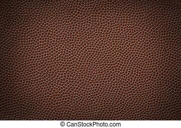 Football Texture - Flat texture of an american football.