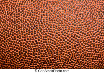 Football texture closeup background