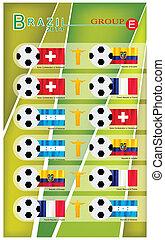 Football Tournament Group E