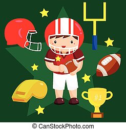 Football Vector Set