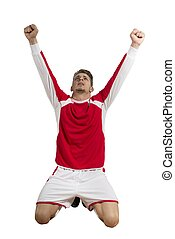 Football Victory - Concept of victory in a football match
