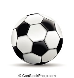 Football White Background