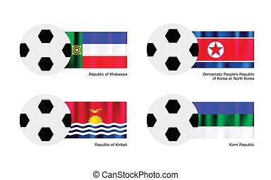 Football with Khakassia, North Korea, Kiribati and Komi ...