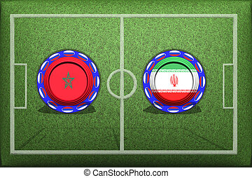 Football, World Cup 2018, Game Group B, Iran - Portugal