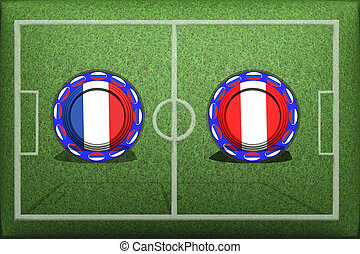 Football, World Cup 2018, Game Group C, France - Peru